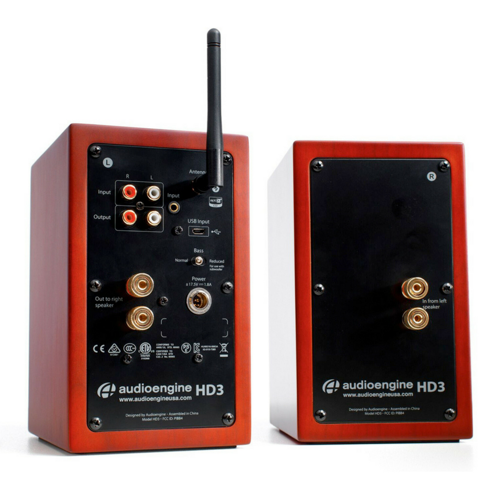 Audioengine HD3 Speakers - Rear