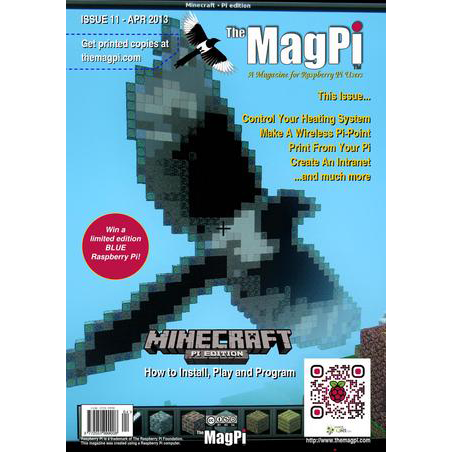 Issue 11 of The MagPi Magazine