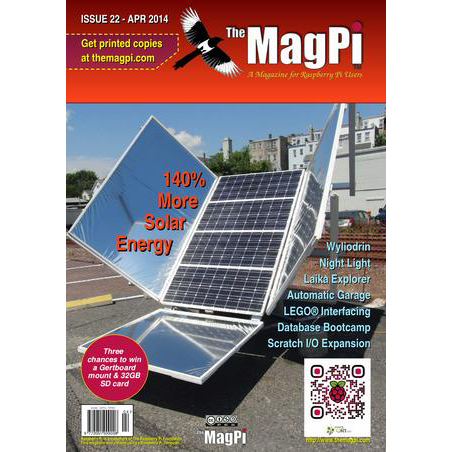 Issue 22 of The MagPi Magazine