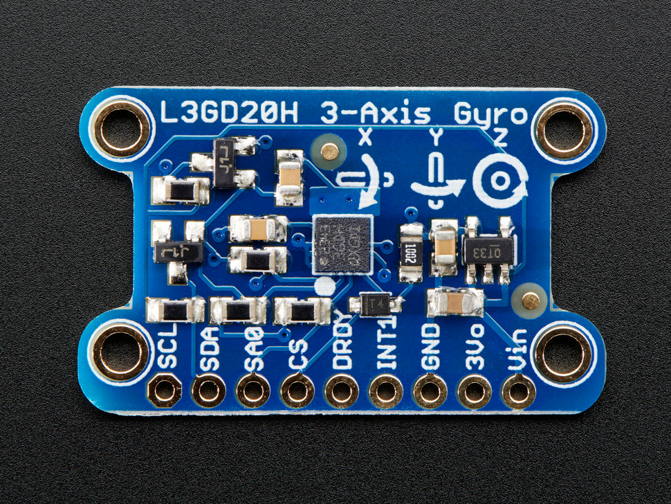 Adafruit L3GD20H Triple-Axis Gyro Board