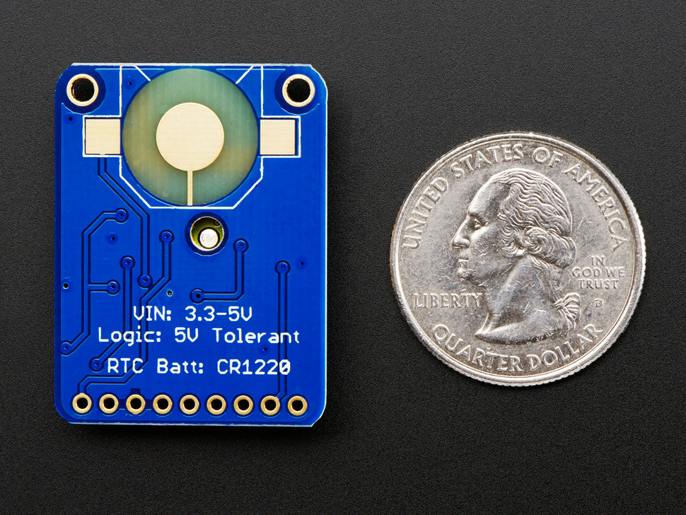 Adafruit Ultimate GPS Breakout (Rear view)