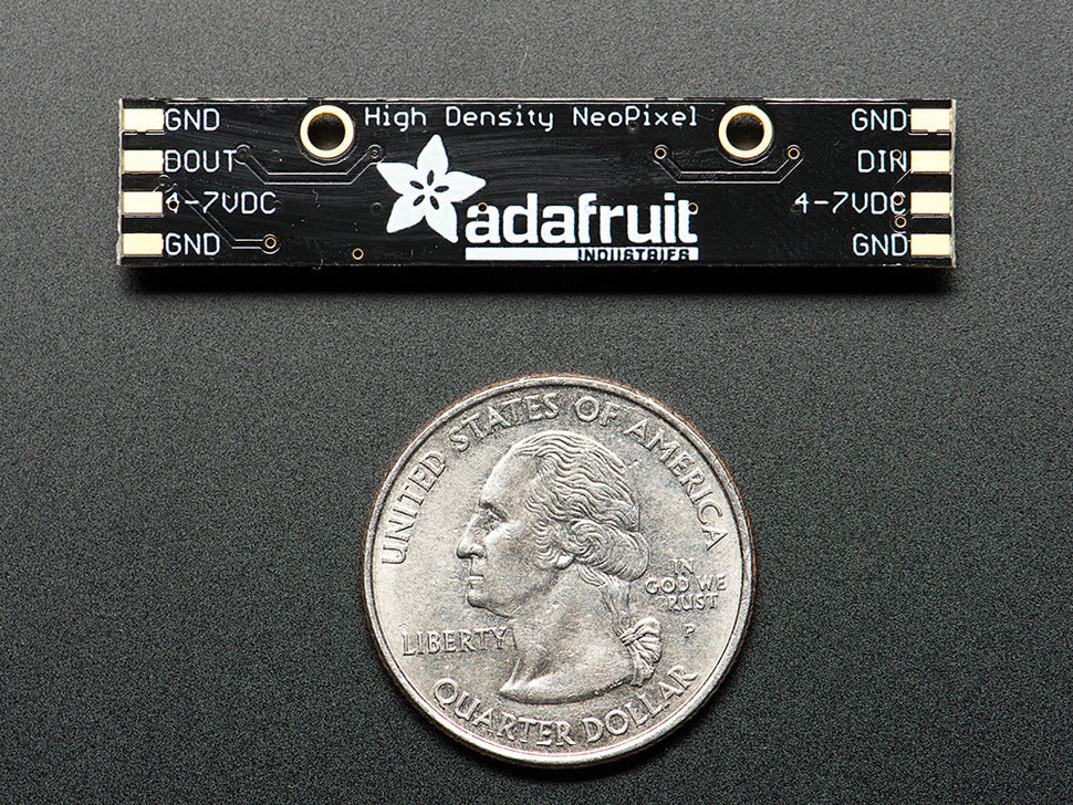 Adafruit NeoPixel Stick Bottom