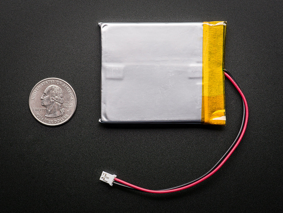Lithium Ion Polymer Battery - 3.7v 2500mAh (Rear)