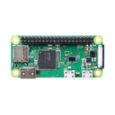 Raspberry Pi Zero W with soldered header
