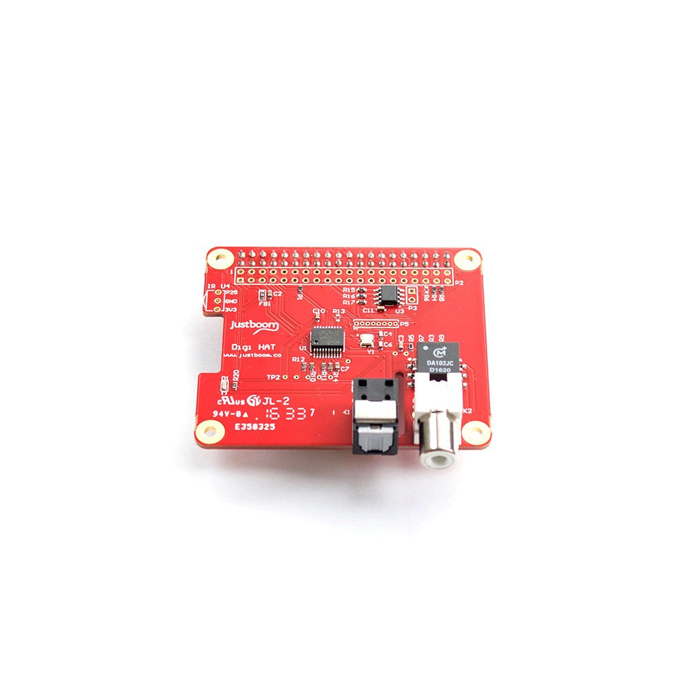 Justboom Digi Hat For The Raspberry Pi Supply Electronic Circuit Java