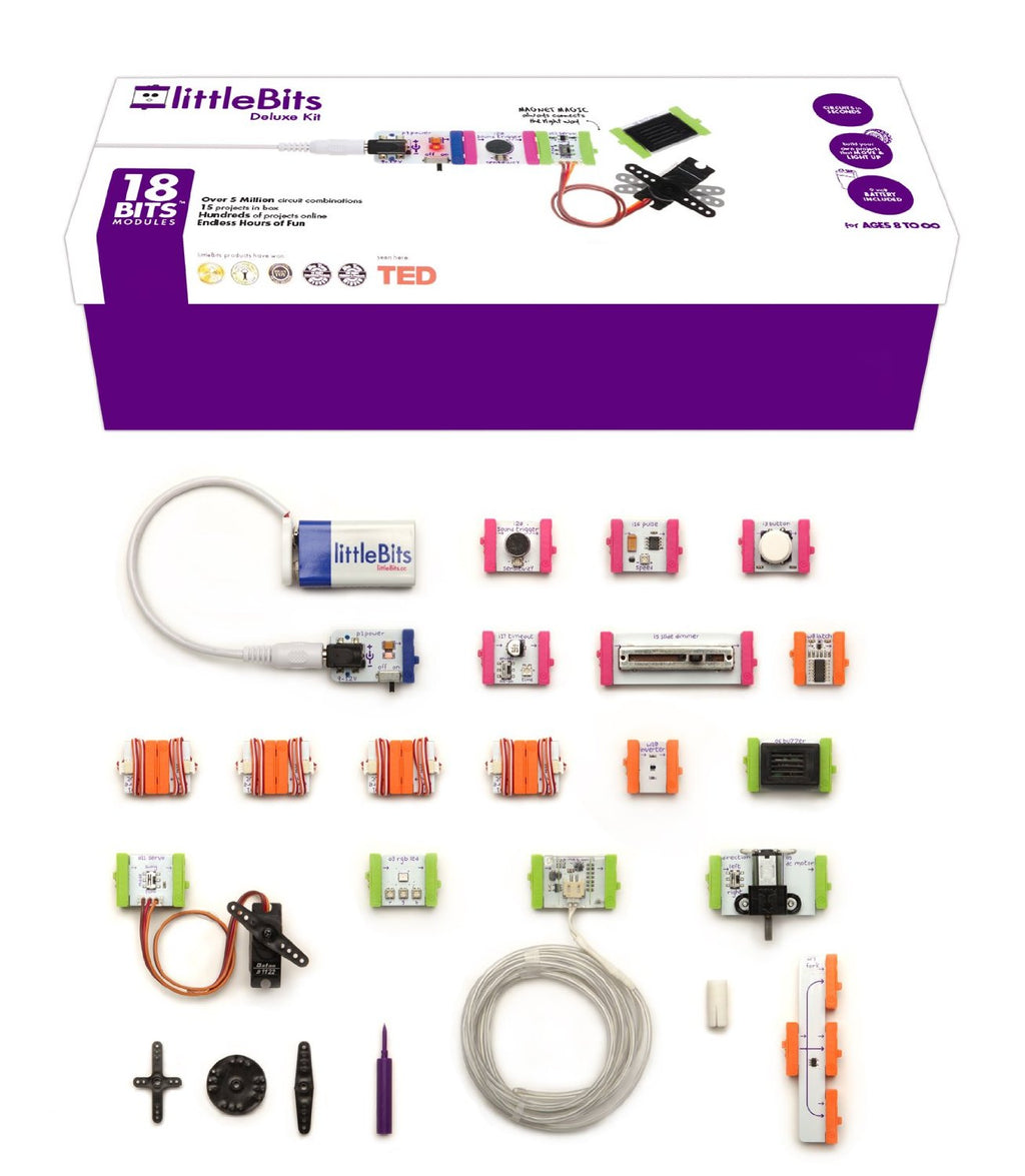 littleBits Deluxe Kit Parts