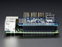 Adafruit 16-Channel PWM / Servo HAT for Raspberry Pi - Stacked Side View