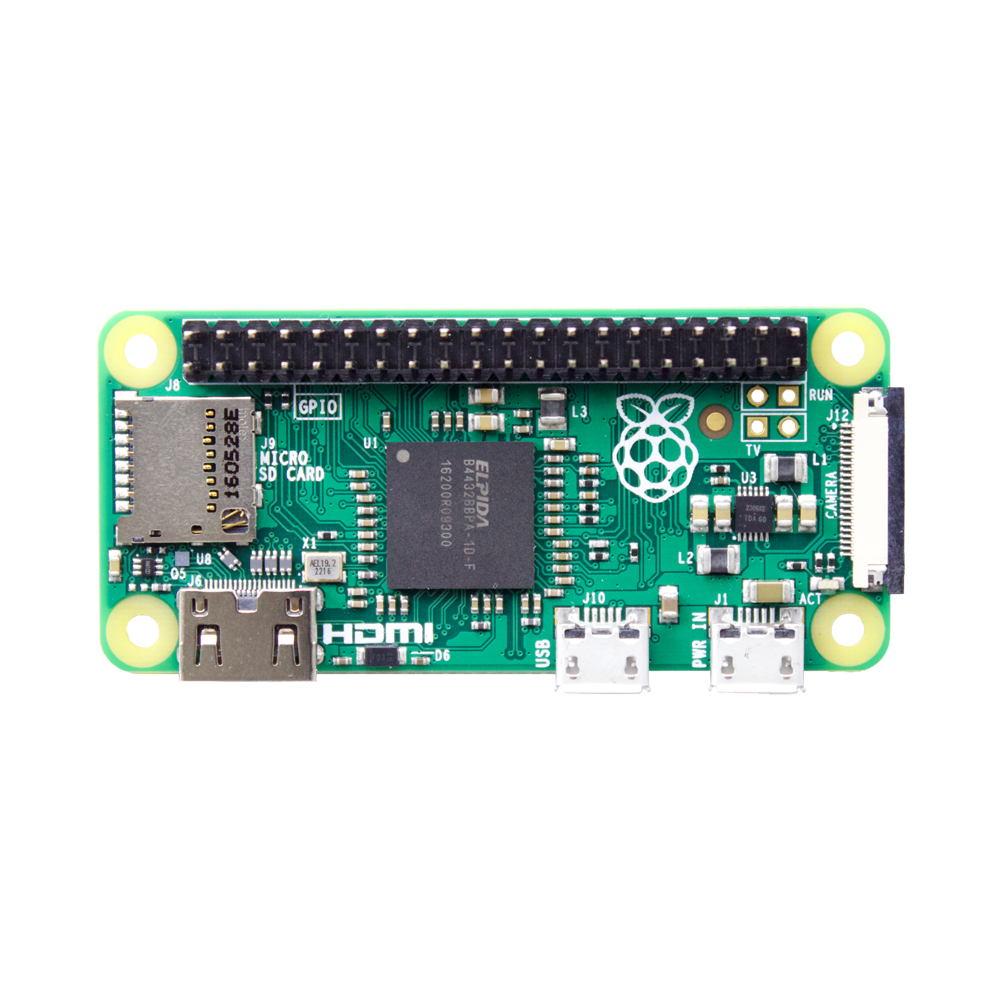 Raspberry Pi Zero v1.3 with Soldered Header – Pi Supply