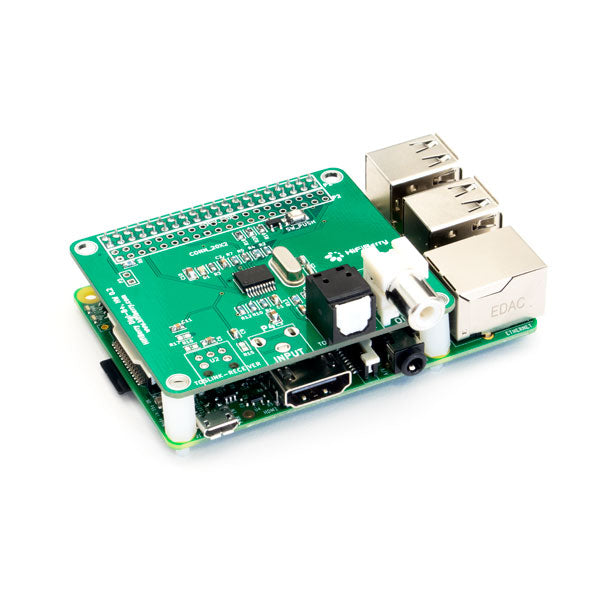 HiFiBerry Digi+ on Raspberry Pi Model 2B