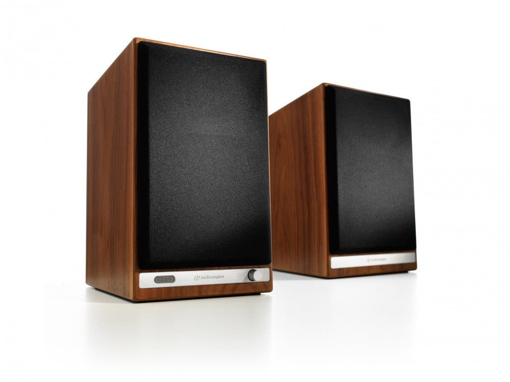 Audioengine HD6 Powered Speakers - Walnut