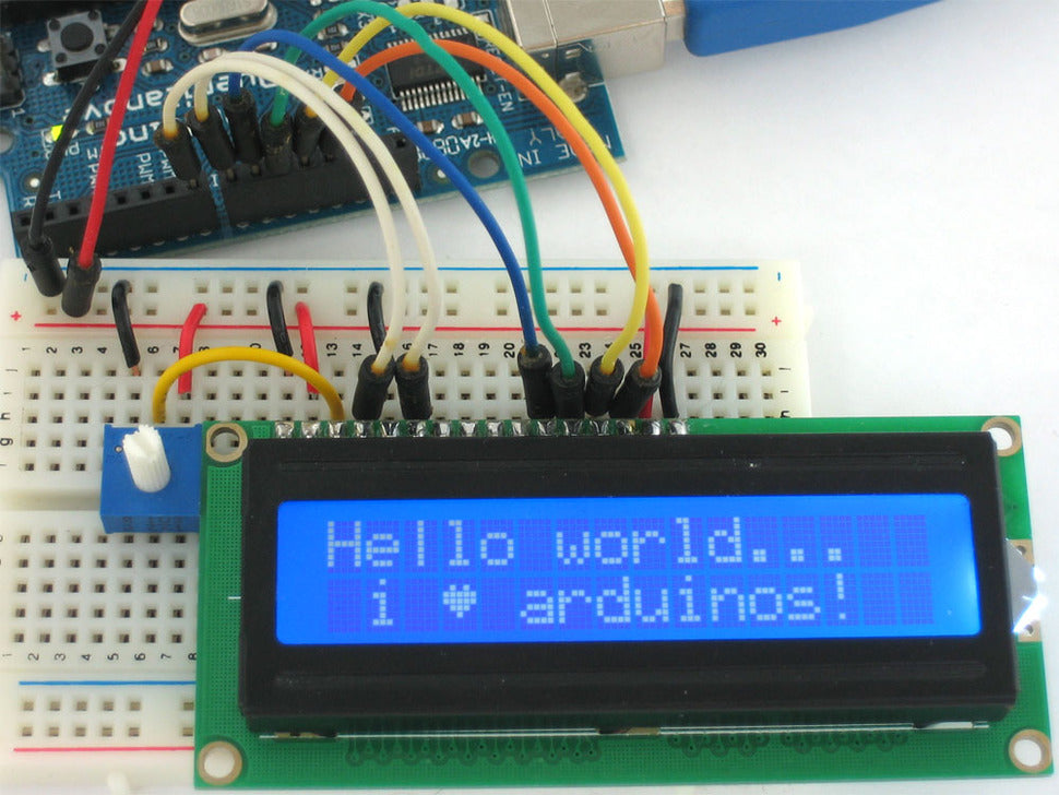Adafruit Standard LCD (Hello world...)