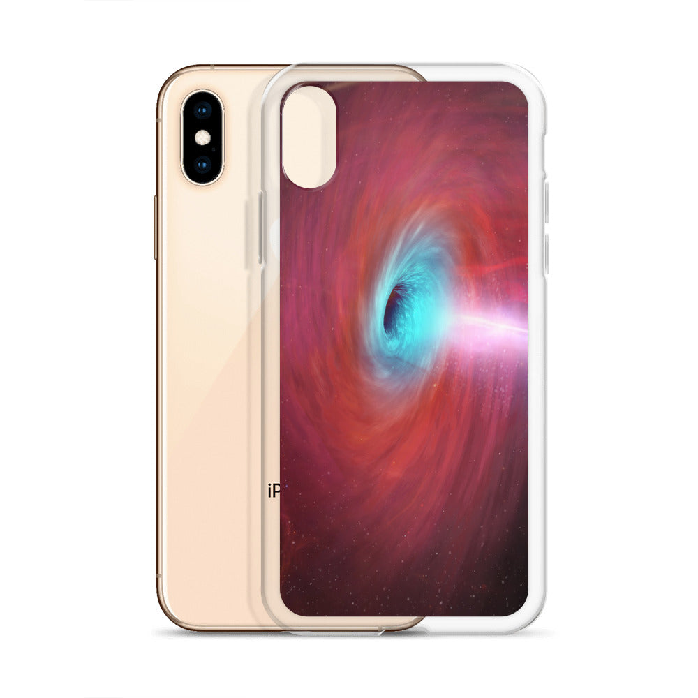 Pi-hole iPhone Case - Black Hole