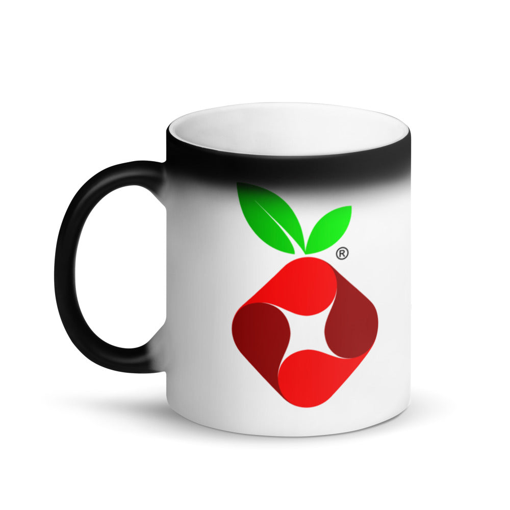 Pi-hole Matte Black Magic Mug