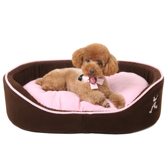 Puppy Cat Dog Pet Bed with Double Sided Sofa Cushion,Waterproof Bottom Most Lovely Pet House Gift