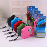 Automatic Retractable Dog Leashes Solid Color