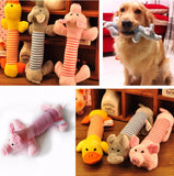 Dog  Pet Chew Toys Canvas Durability Vocalization Dolls Bite  Toys for Dog Accessories