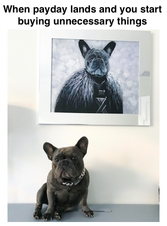 Commission a Custom Oil Portrait of Your Pet as Royalty