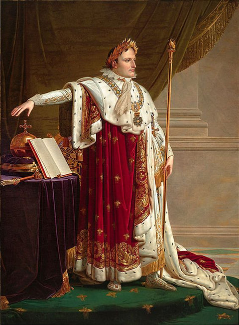 Napoleon I in Coronation robes