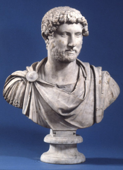 Marble bust of the Emperor Hadrian