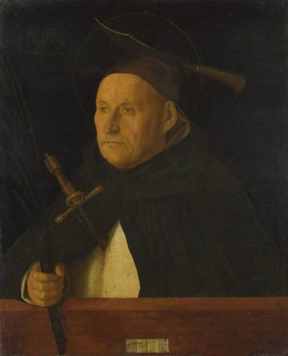 A Dominican with the Attributes of Saint Peter Martyr