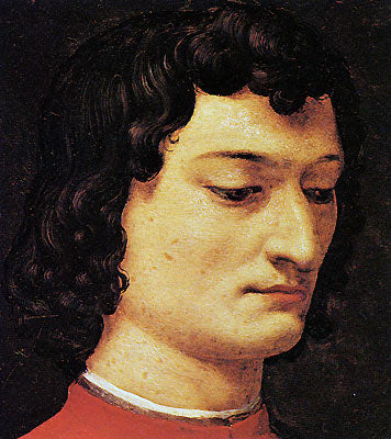 A portrait of Giuliano di Piero de' Medici