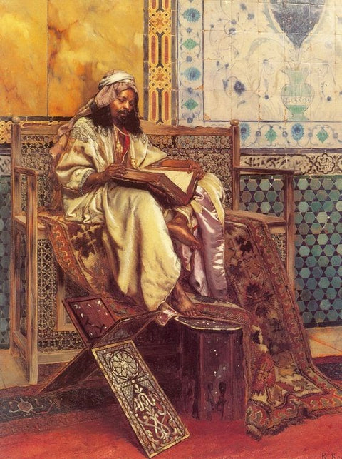 A Moorish Painting