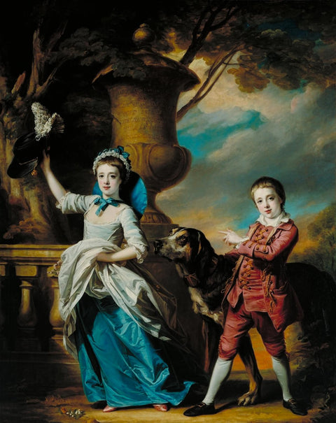 Anna Maria Astley, Aged Seven, and her Brother Edward, Aged Five and a Half
