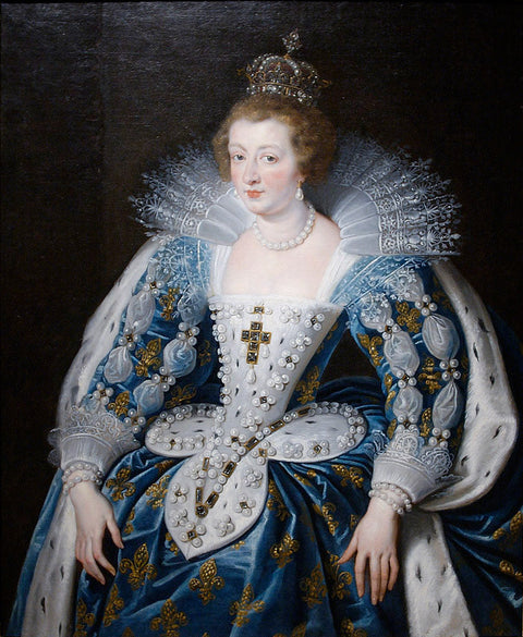 Anna of Austria, queen of France, mother of king Louis XIV