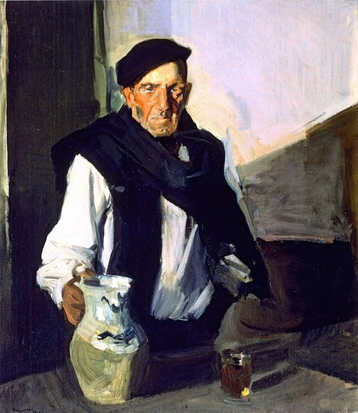 Basque Drinker