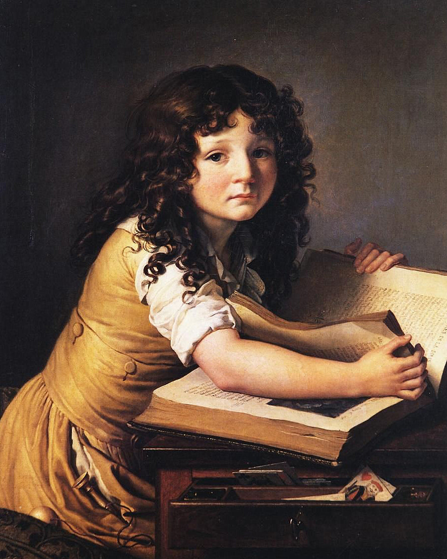 Benoît Agnès Trioson Reading a Book