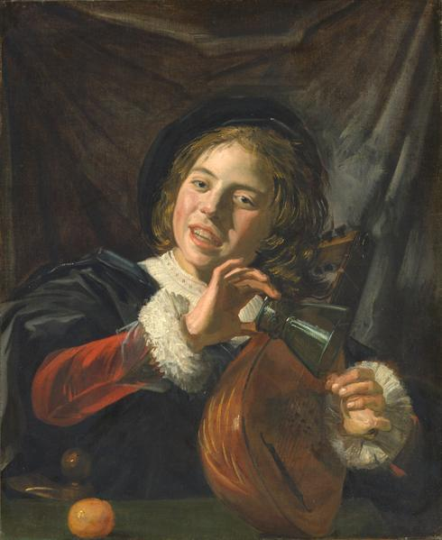 Boy with a Lute