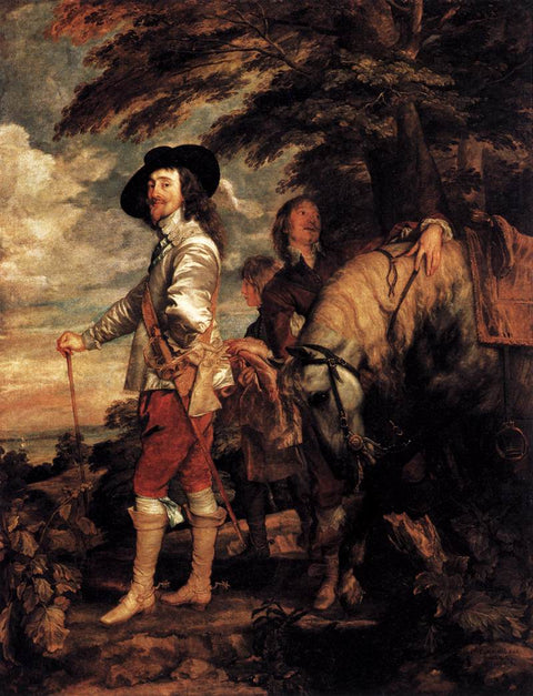 Charles I, King of England at the Hunt