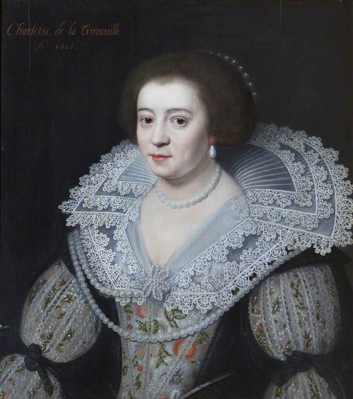 Charlotte de la Trémoïlle, Lady Strange, Later Countess of Derby