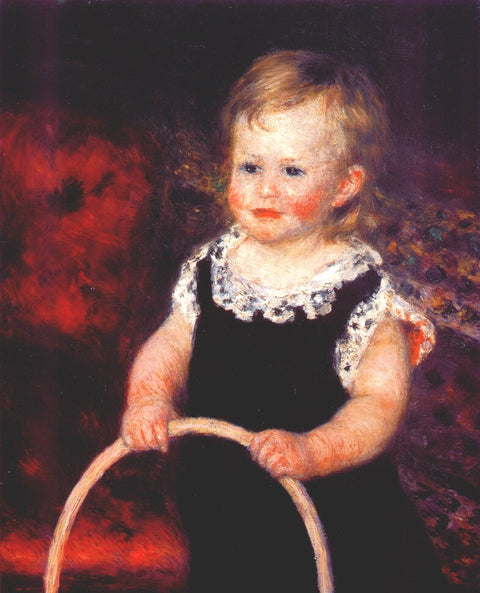 Child with a hoop