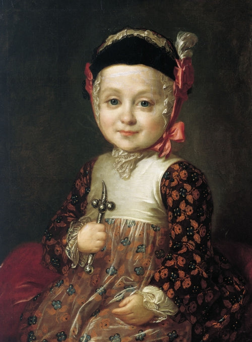 Count Alexey Bobrinsky as a Child