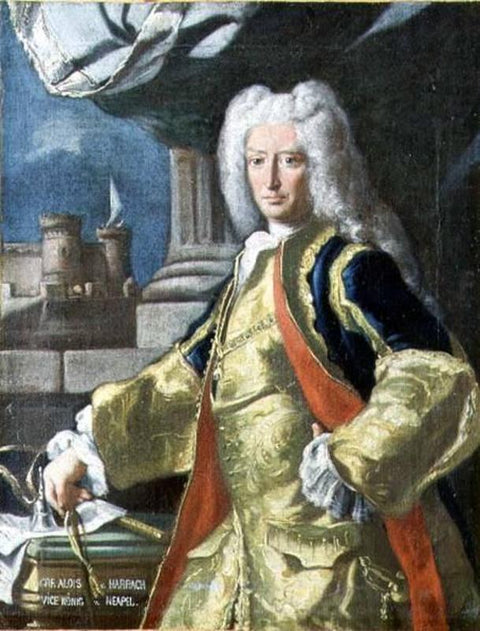 Count Alois Thomas Raimund Harrach, Viceroy of Naples