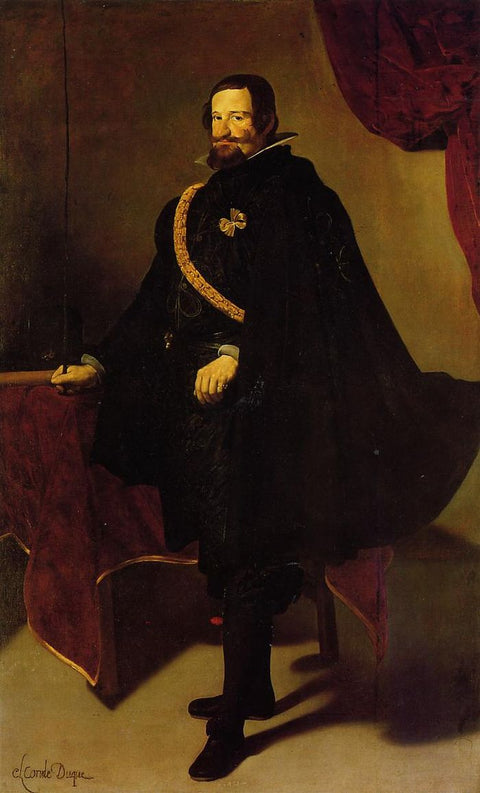 Don Gaspde Guzman, Count of Oliveres and Duke of San Lucla Mayor