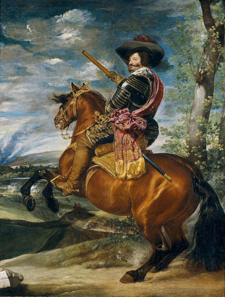 Equestrian Portrait of Don Gaspar de GuzmanCount Duke of Olivares