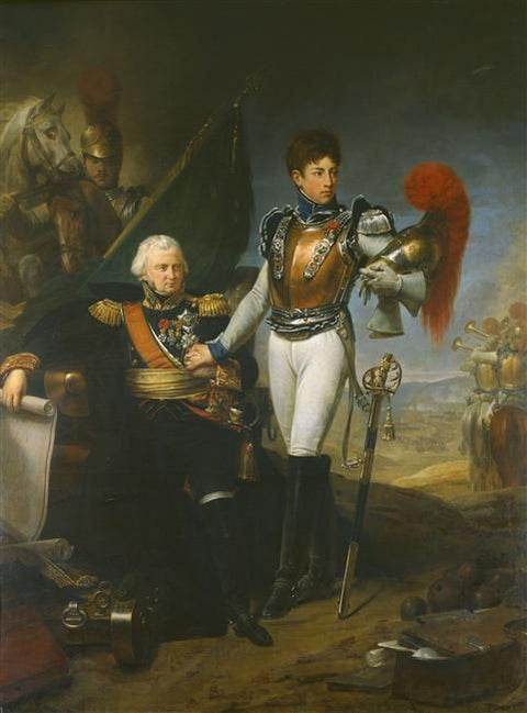 General Baston De Lariboisière and His Son Ferdinand