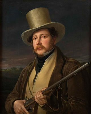 Gentleman in Hunting Clothes