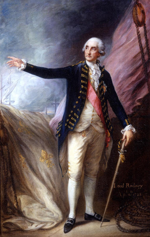 George Brydges Rodney, Admiral of the White