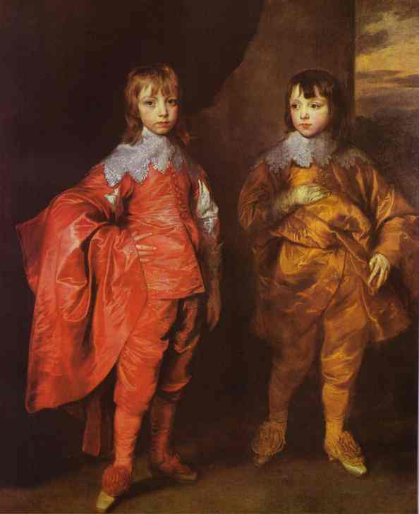 George Villiers, 2nd Duke of Buckingham and His Brother Lord Francis Villiers