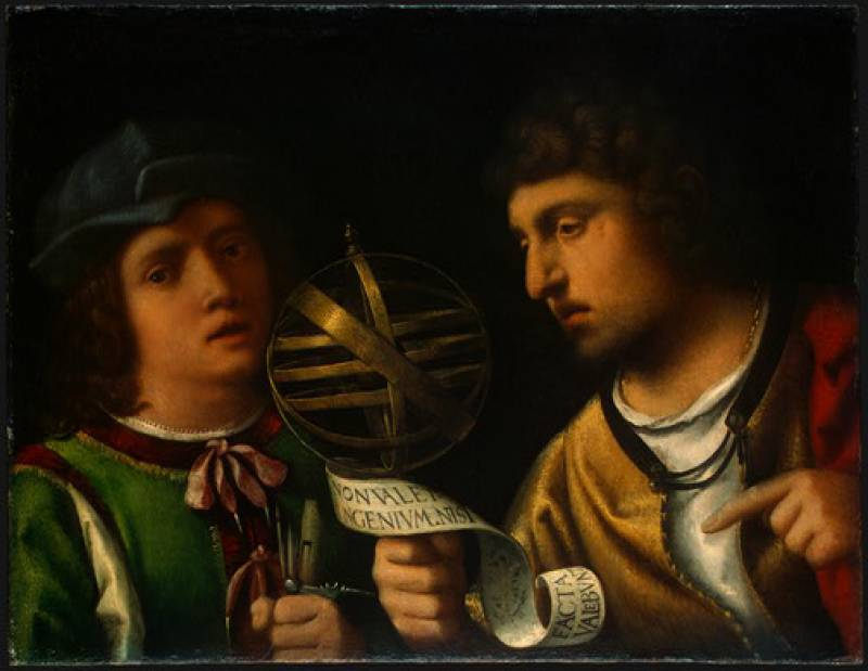 Giovanni Borgherini and His Tutor
