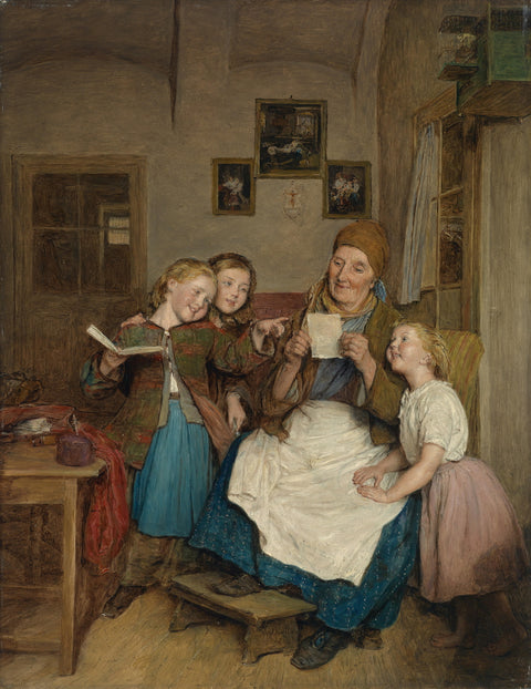 Grandmother with Three Grandchildren
