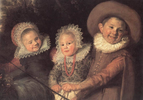 Group of Children (detail)