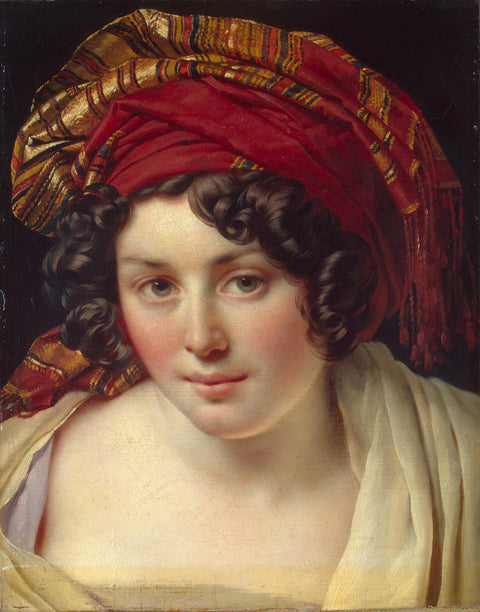 Head of a Woman in a Turban
