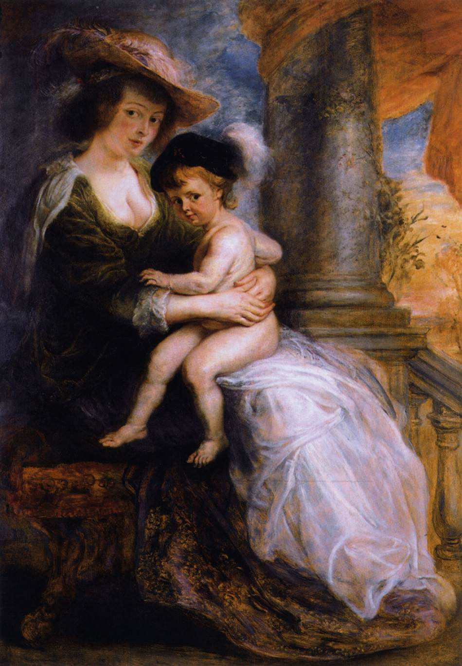 Helena Fourment with her Son Francis
