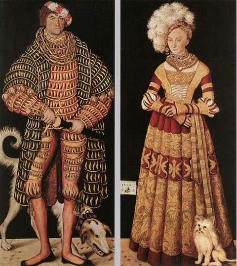 Henry the Pious, Duke of Saxony and his wife Katharina von Mecklenburg