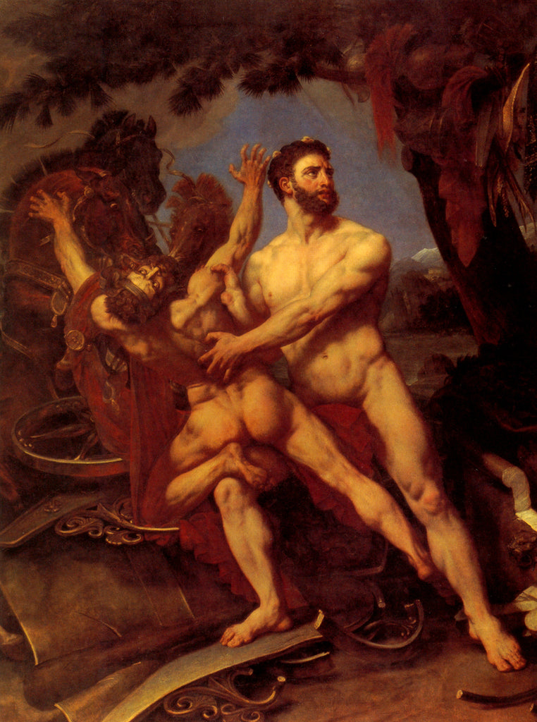 Hercules and Diomedes Antoine-Jean Gros