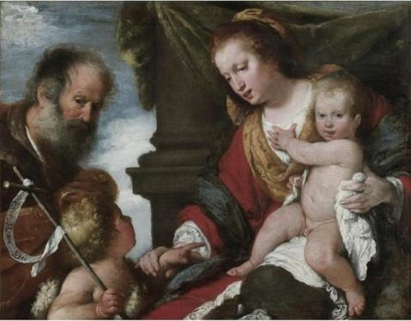 Holy Family with St. John Baptist